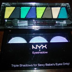2 Eye Shadow Palettes NYX & Kleancolor Fab Cult